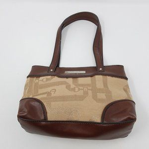 Etienne Aigner bag emblem cloth/vegan leather mini